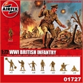 WWI BRITISH INFANTRY - Airfix - 1/72