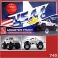 BIGFOOT Chevy Monster Truck - SPECIAL EDITION AMT - 1/25