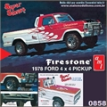 1978 - Ford 4x4 Pickup Firestone - AMT - 1/25