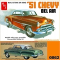 1951 - Chevy BEL AIR - AMT - 1/25