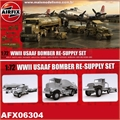 WWII USAAF Bomber Re-Suply Set - Airfix - 1/72
