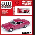1971 - Dodge Dart Swinger Rosa - Auto World - 1/64