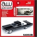 1976 - Cadillac Coupe DeVille Preto - Auto World - 1/64
