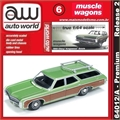 1969 - Chevy KINGSWOOD Estate Verde - Auto World - 1/64