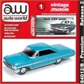 1964 - Ford GALAXIE 500XL Azul - Auto World - 1/64