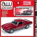 1969 - Pontiac FIREBIRD Vermeho - Auto World - 1/64