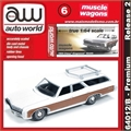 1969 - Chevy KINGSWOOD Estate Branco - Auto World - 1/64