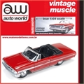 1964 - Ford GALAXIE 500XL Convertible Vermelho - Auto World - 1/64