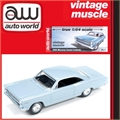 1966 - Mercury COMET Caliente Azul - Auto World - 1/64
