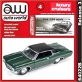 1970 - Chevy IMPALA Custom Coupe Verde - Auto World - 1/64