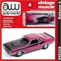 1970 - Dodge CHALLENGER T/A Rosa - Auto World - 1/64