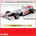 2011 VODAFONE MCLAREN MERCEDES MP4-26 - Jenson Button - Bburago - 1/32