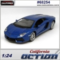 Lamborghini AVENTADOR LP700-4 Azul - California Action - 1/24