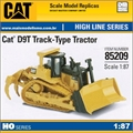 DCM - Trator CAT D9T TRACK TYPE - Diecast Masters - 1/87