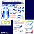 DECAL - Boeing 737 Parte 2 - FCM - 1/200