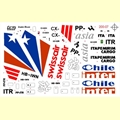 DECAL - BOEING 727 ITAPEMIRIM / L-1011 CHILE / MD-11 SWISSAIR - FCM - 1/200