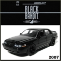 BLACK BANDIT  6 - 2003 Mercury - Greenlight - 1/64