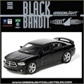 BLACK BANDIT  7 - 2012 DODGE CHARGER R/T - Greenlight - 1/64