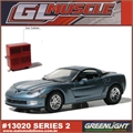 GLMUSCLE  2 - 2010 Chevrolet CORVETTE Z06 - Greenlight - 1/64