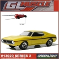 GLMUSCLE  2 - 1971 AMC JAVELIN SST - Greenlight - 1/64