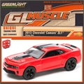 GLMUSCLE  6 - 2013 CHEVROLET CAMARO ZL1 - Greenlight - 1/64