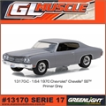 GLMUSCLE 17 - 1970 Chevrolet CHEVELLE SS Primer - Greenlight - 1/64