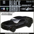 BLACK BANDIT  8 - 2012 Chevrolet COPO CAMARO - Greenlight - 1/64