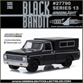 BLACK BANDIT 13 - 1972 Chevrolet C-10 Pickup - Greenlight - 1/64