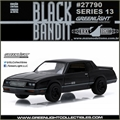 BLACK BANDIT 13 - 1984 Chevrolet Monte Carlo SS - Greenlight - 1/64