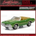 1970 - Oldsmobile Cutlass 442 - Greenlight Barrett-Jackson - 1/64