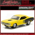 1971 - Plymouth HEMI Cuda - Greenlight Barrett-Jackson - 1/64
