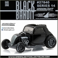 BLACK BANDIT 14 - Topo Fuel Altered DRAGSTER - Greenlight - 1/64