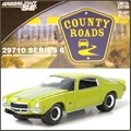 CR 6 - 1972 Chevrolet CAMARO Z28 - Greenlight - 1/64