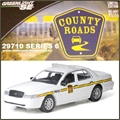 CR 6 - 2008 Ford CROWN VICTORIA Police - Greenlight - 1/64