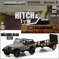 Michones JEEP WRANGLER YJ and Trailer - Greenlight Hitch and Tow - 1/64