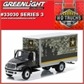 INTERNATIONAL DuraStar Box US Army - Greenlight - 1/64