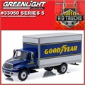 INTERNATIONAL DuraStar Box Truck Goodyear - Greenlight - 1/64