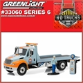 INTERNATIONAL DuraStar GULF Flatbed - Greenlight - 1/64