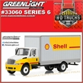 INTERNATIONAL DuraStar SHELL Box Truck - Greenlight - 1/64