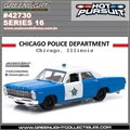 HP 16 - 1967 Ford Custom CHICAGO Police Dpt - Greenlight - 1/64