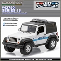 HP 18 - 2007 Jeep Wrangler HERMOSA BEACH Police - Greenlight - 1/64