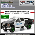 HP 18 - 2015 Chevrolet Silverado MANHATTAN BEACH CHASE CAR - Greenlight - 1/64