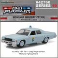 HP 19 - 1977 Dodge Royal Monaco MONTANA Highway Patrol - Greenlight - 1/64
