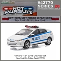 HP 20 - 2016 Chevrolet Volt NYPD - Greenlight - 1/64
