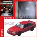 GL HOLLYWOOD  5 - 1987 Ford MUSTANG GT - Greenlight - 1/64