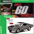 GL HOLLYWOOD  7 - 1967 Ford Mustang Eleanor - Greenlight - 1/64