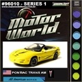 MW  1 - Pontiac Trans Am Amarelo - Greenlight - 1/64