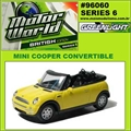 MW  6 - MINI COOPER Convertible - Greenlight - 1/64
