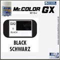 Tinta Gunze  Mr Color GX 2 PRETO UENO Extra-Brilho - 18ml