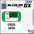 Tinta Gunze  Mr Color GX 6 VERDE MORRIE Extra-Brilho - 18ml